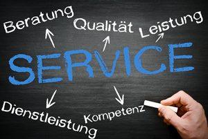 Service - Qualitat - Beratung - Kompetenz